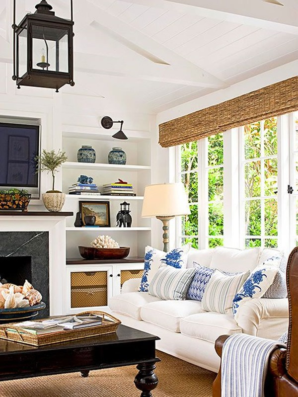 Dissecting the details a classic casual living room Better homes and gardens living room ideas