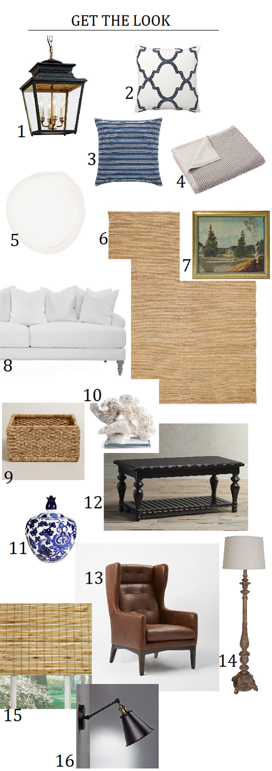 Casual Living Room: Dissecting The Details: A Classic, Casual Living Room