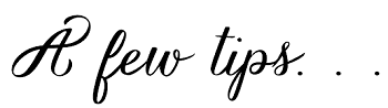 a_few_tips