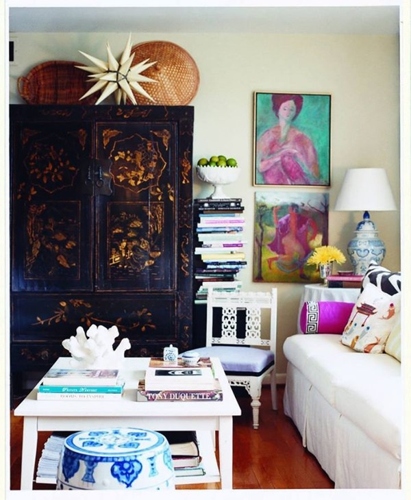 Decorating Armoire. How To Decorate Around And On Top Of Tall Furniture  Emily A Clark