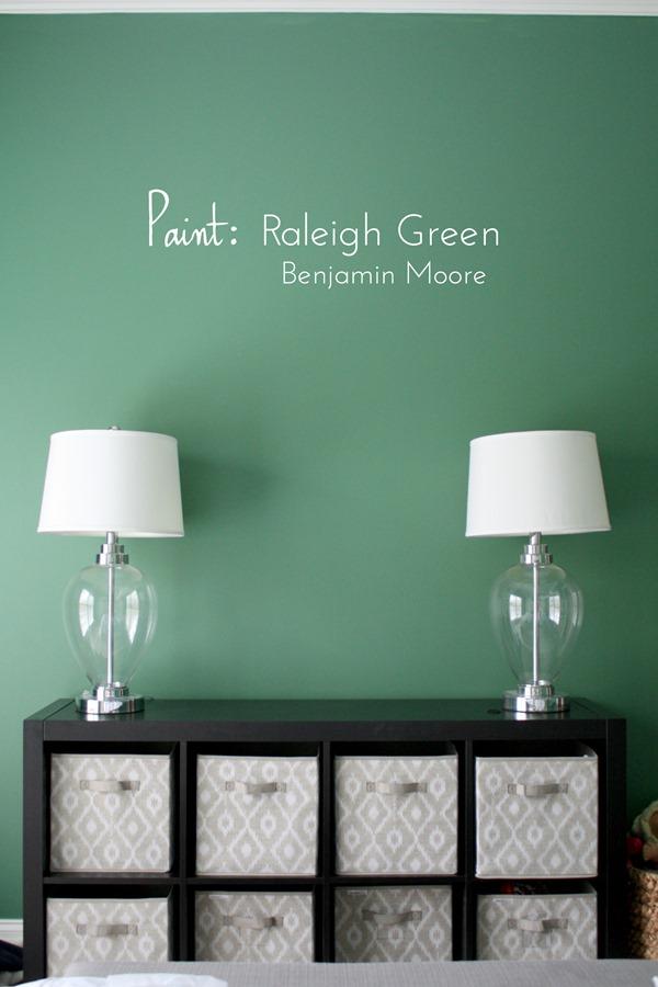 Raleigh Green By Benjamin Moore
