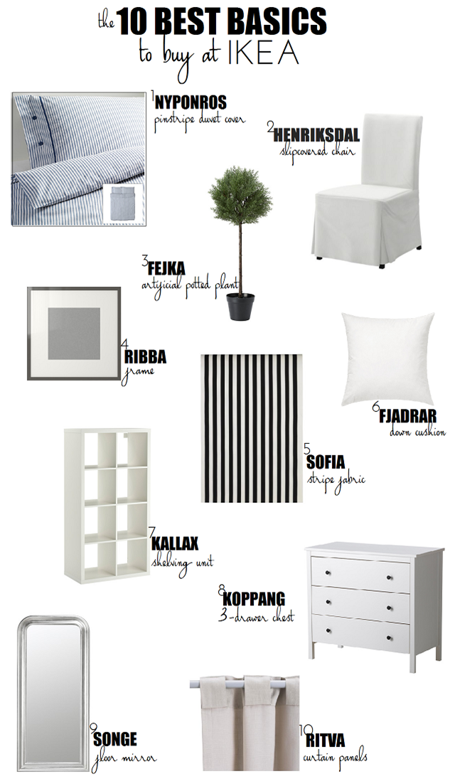 10 Great Products to Buy at IKEA