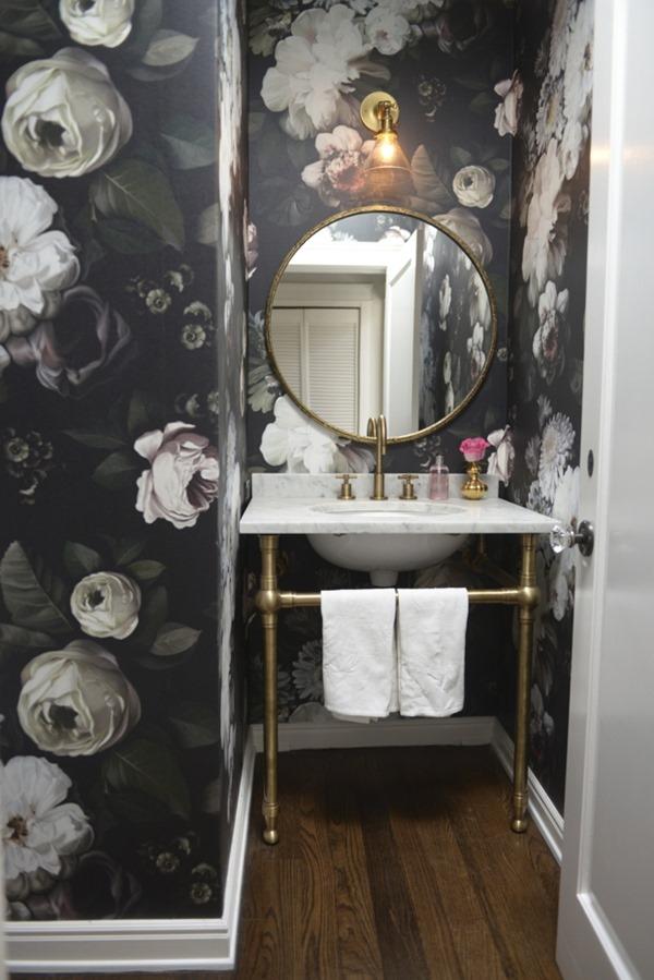 floral-wallpaper-powder-room