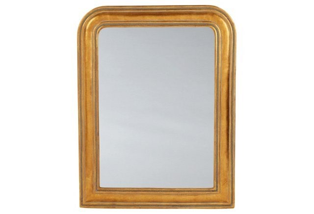 gold-rounded-mirror