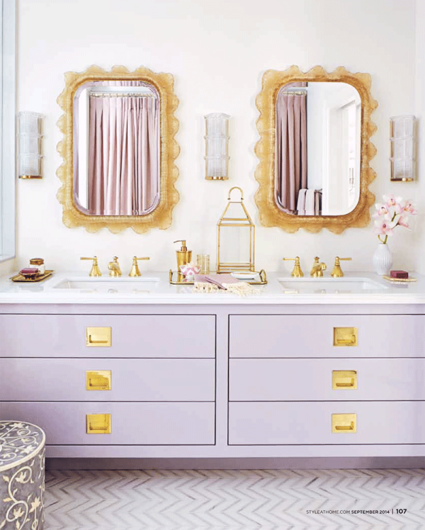 Statement Mirrors For The Bathroom - Emily A. Clark on