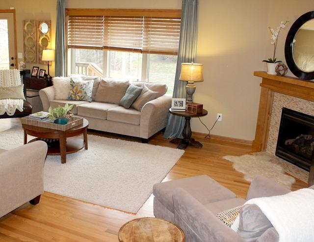 Wonderful Give Take Tan Living Room