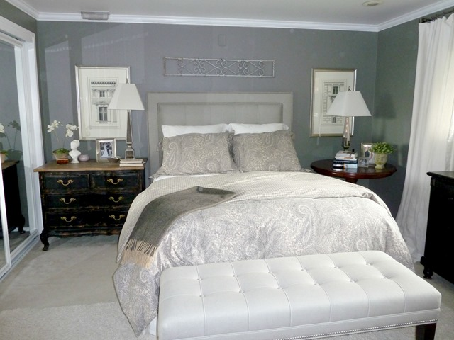 Give take a gray master bedroom emily a clark Amazing gray master bedroom