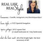 Real Life, Real Style: Camille's Bungalow