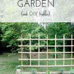 Our Raised Bed Garden + DIY Trellis