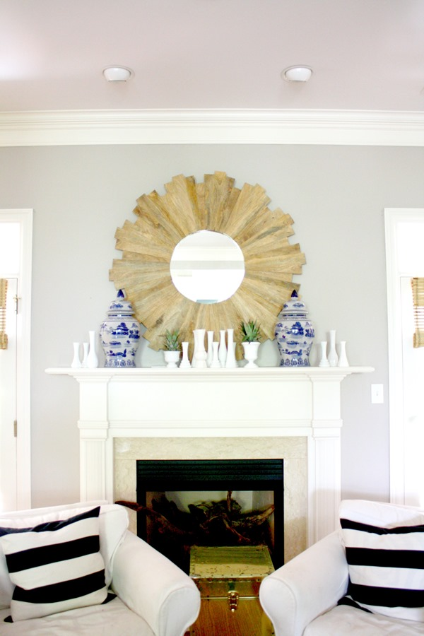 summer-mantel-decorating