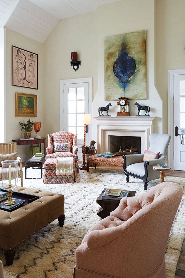 art-collection-living-room