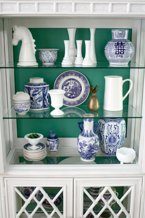 green-white-blue-china-cabinet