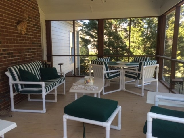 screened sun porch