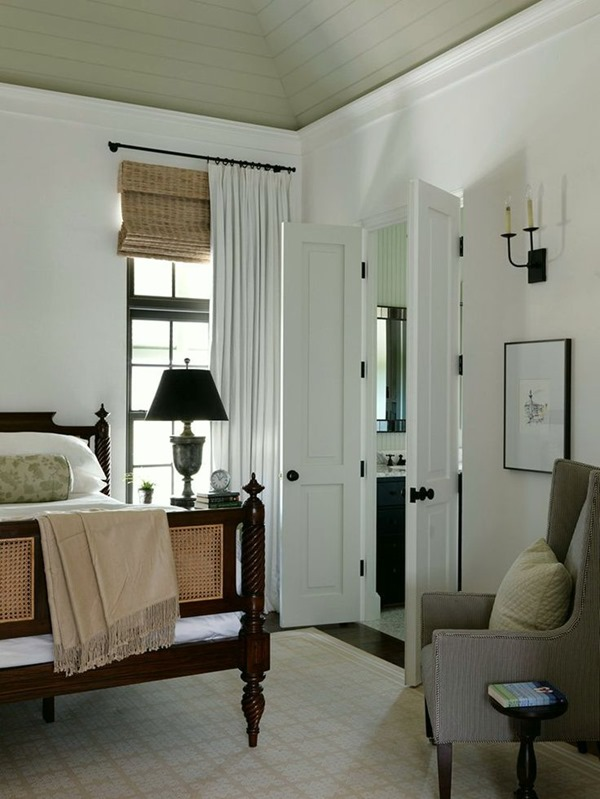 Neutral Curtains Bedroom