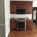 Our White Kitchen Cabinets + Granite