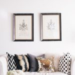 The Neutral Side of Fall Decorating (Using Metallics)