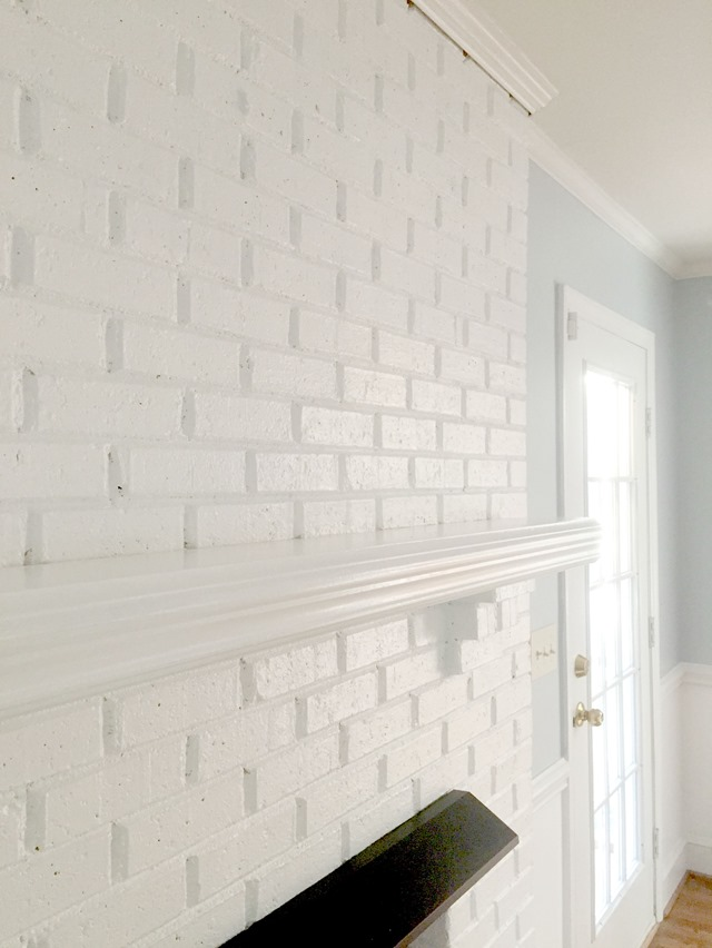 Color Paint Fireplace Brick