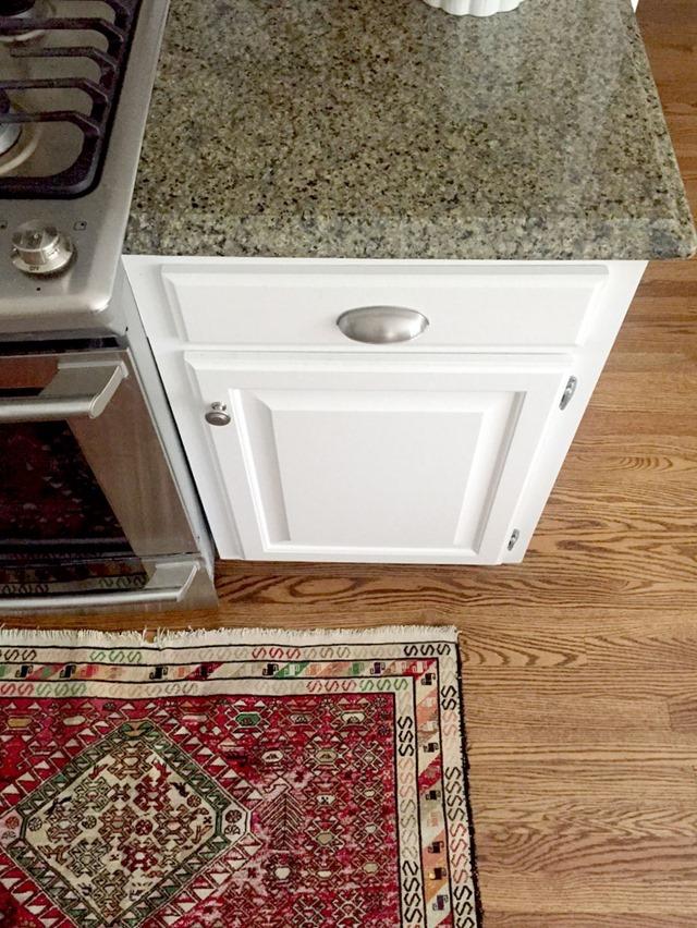 white cabinets granite our white kitchen cabinets   granite   emily a  clark  rh   emilyaclark com