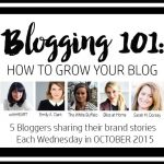 Blogging 101: Developing My Blog/Brand