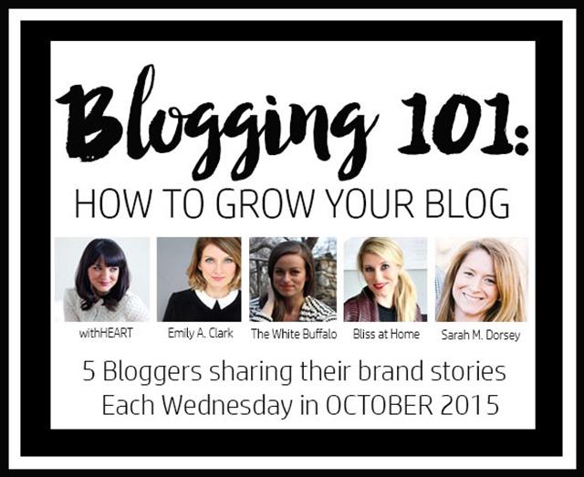 blogging 101 series