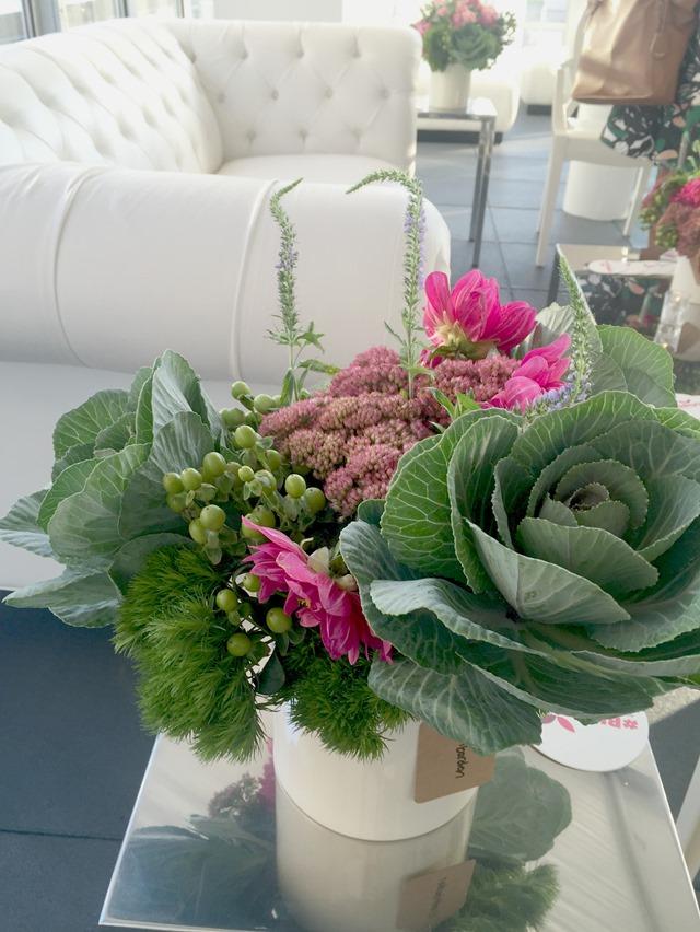 Fall kale flower bouquet