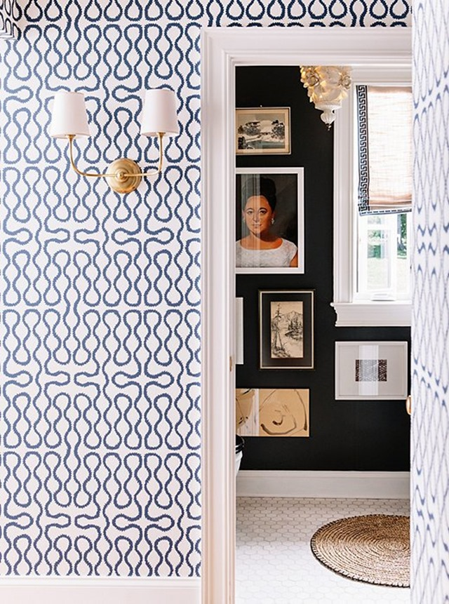 one kings lane_pencil & paper_VERTICAL INTO BATHROOM WITH WALLPAPER