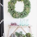 A Traditional Holiday With Linen And Boxwoods