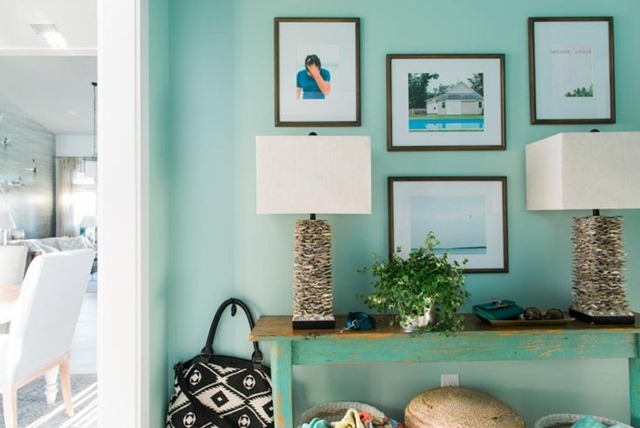 HGTV dream home gallery wall