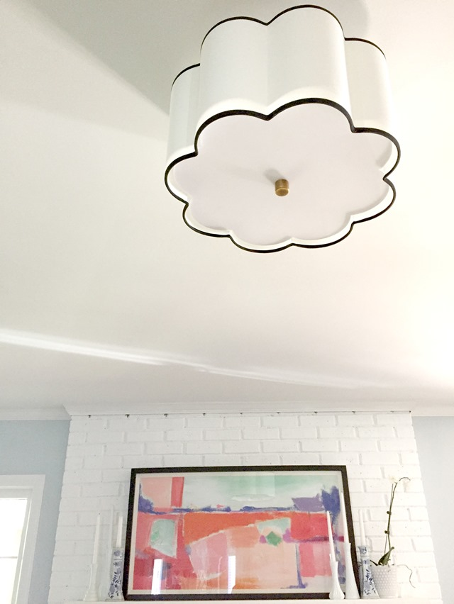 Flush Mount Lighting In The Living Room Emily A Clark - Living room flush mount lighting