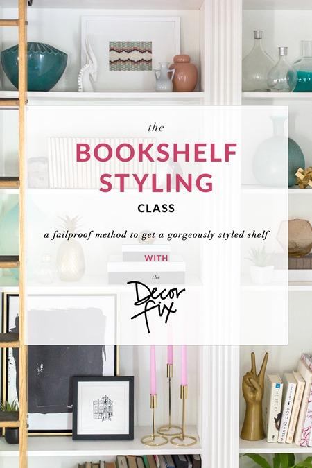 The Bookshelf Styling Class