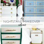 (DIY) Nightstand Makeover Ideas