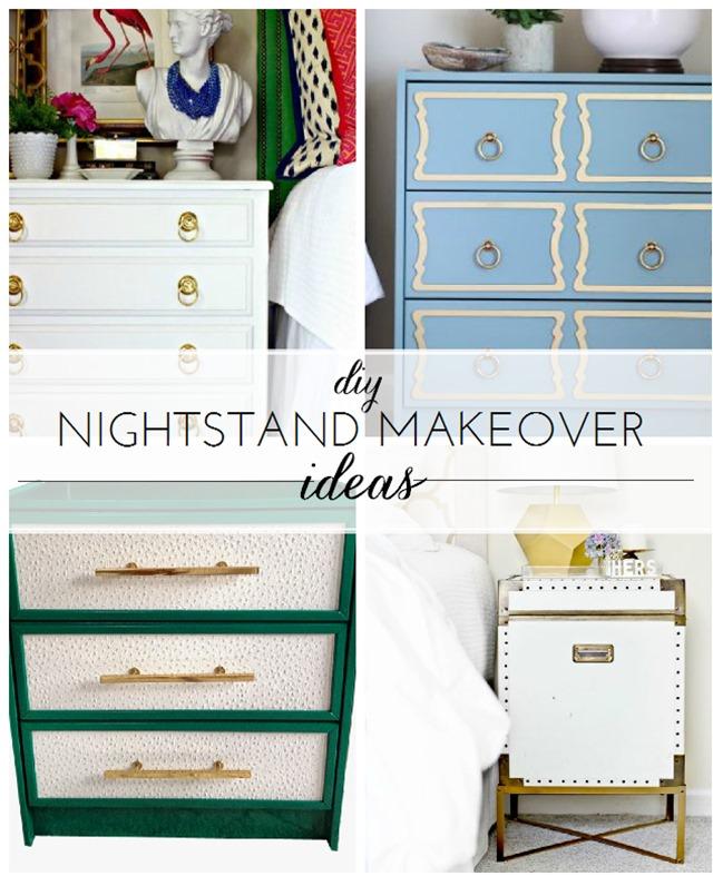DIY Nightstand Makeover Ideas