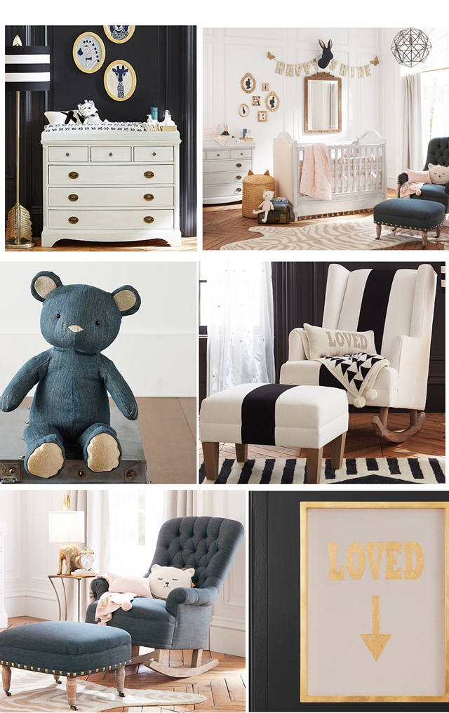 The Emily & Meritt nursery collection for Pottery Barn Kids