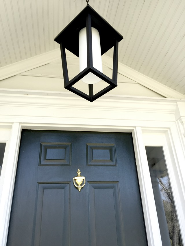lantern outdoor pendant