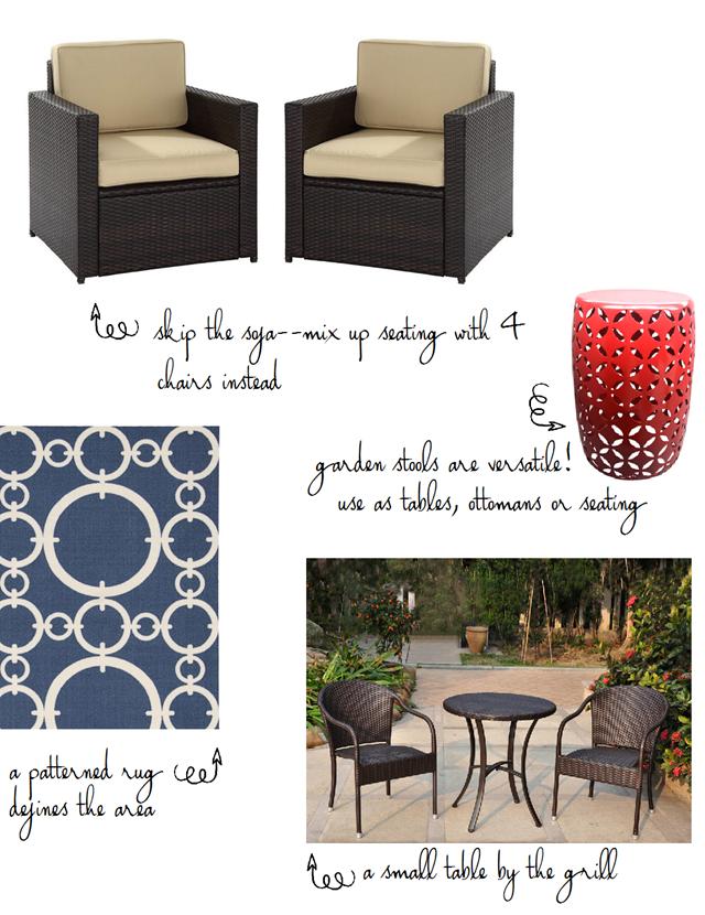 patio design notes