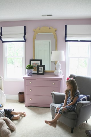 Cordless Roman Shades Girls Bedrooms Emily A Clark