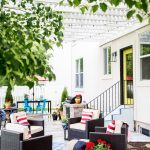 Lowe's Spring Makeover Patio Reveal