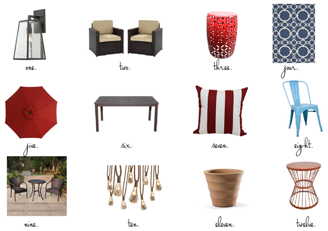 Plastic Wicker Patio Furniture Makeover