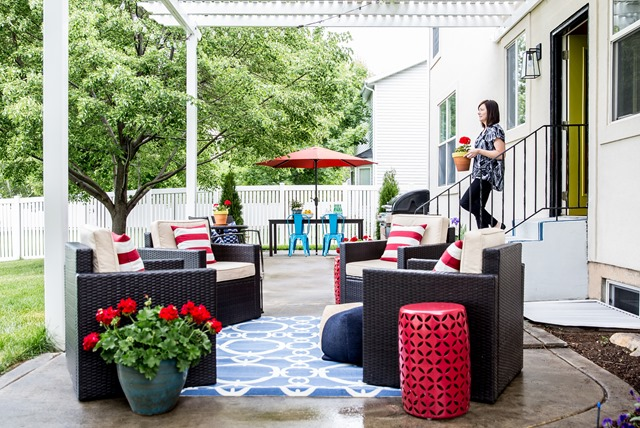 Lowes Spring Patio Makeover