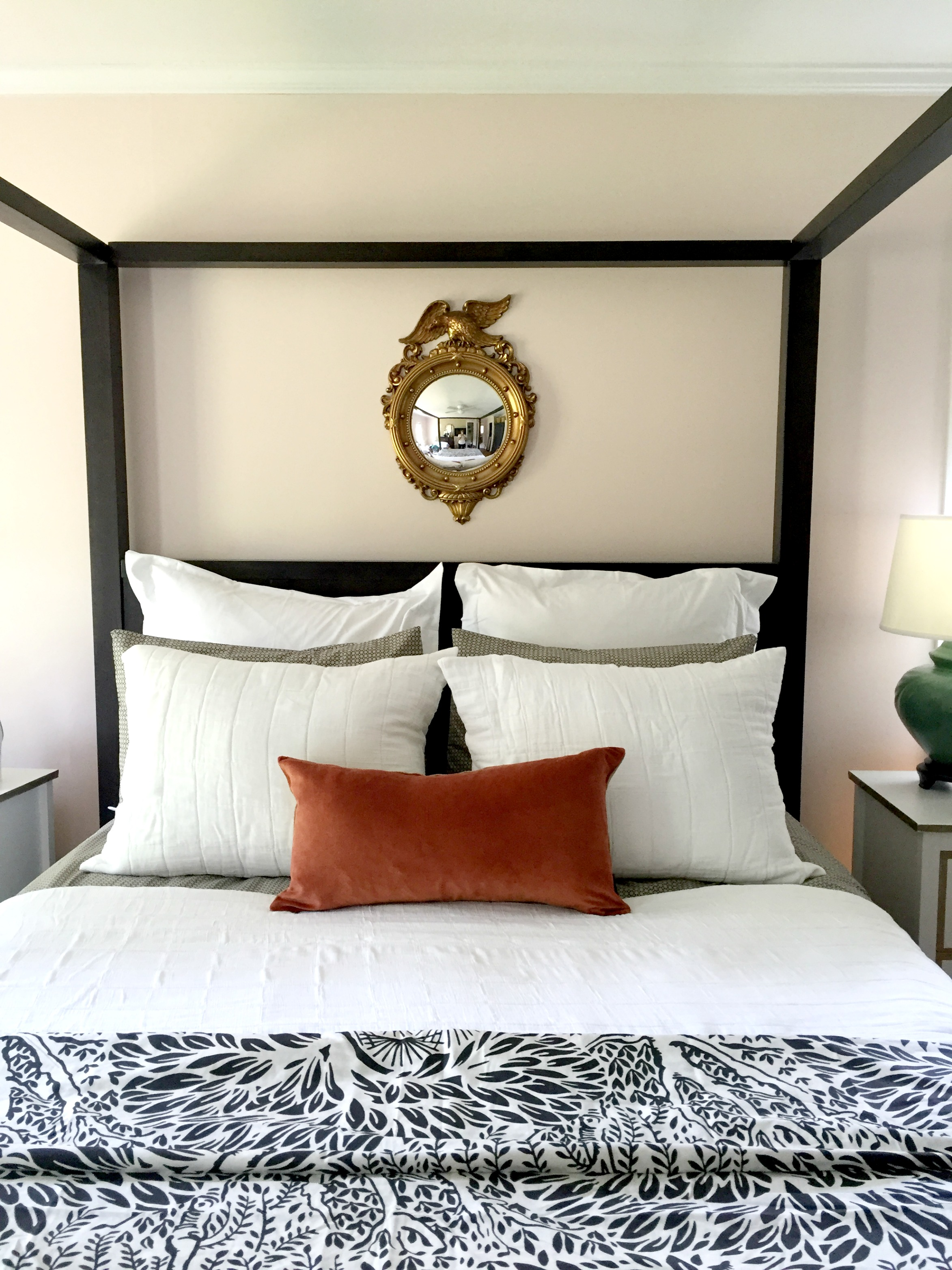 Our Master Bedroom Bedding Mix - Emily A. Clark