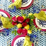 My Colorful Summer Table (Video)