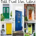 5 Bold Colors For The Front Door