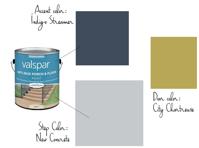 Patio Paint Colors