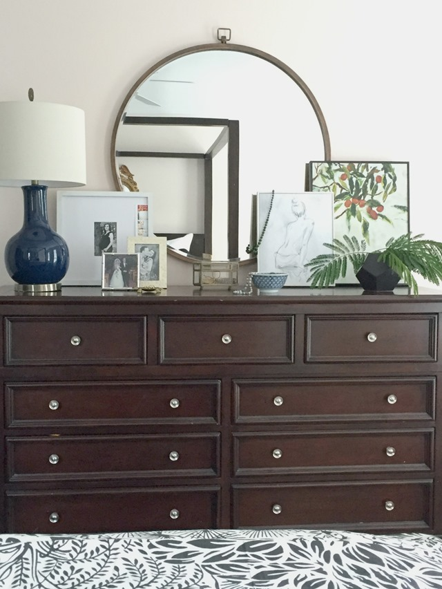 Styling Our Bedroom Dresser - Emily A. Clark