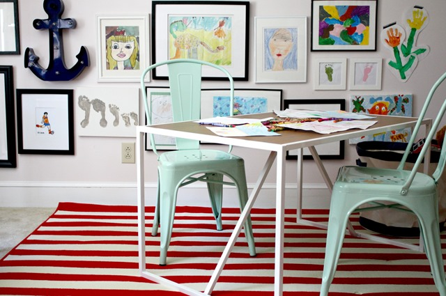 playroom makeover Target Pillowfort activity table + chairs ...  sc 1 st  Emily A. Clark & playroom Archives - Emily A. Clark