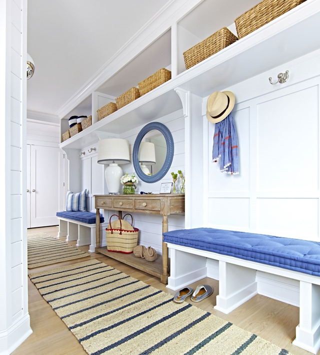Beach House Foyer Ideas : House tour archives emily a clark