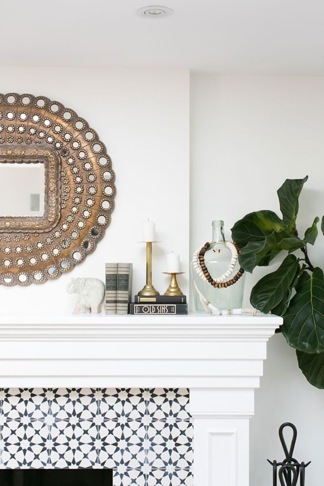 round_mirror_mantel