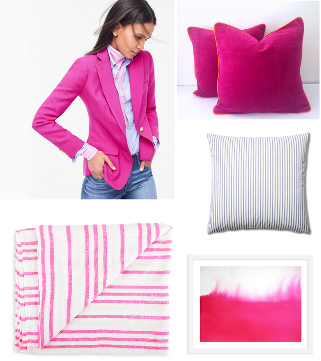 J Crew Pink Fall Trends