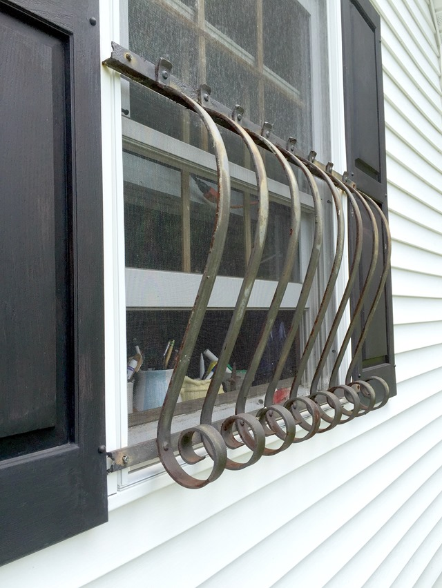 antique window guards
