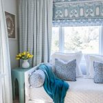 Pairing Patterned Roman Shades With Curtains + More Window Ideas